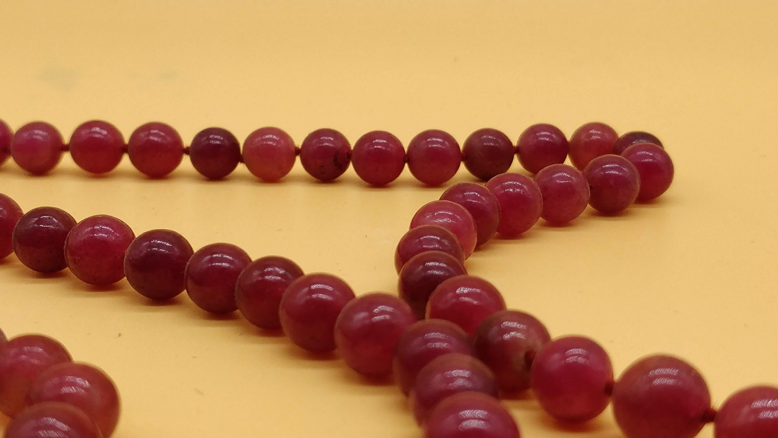 Red Stone Rosary