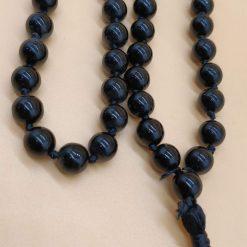 black stone rosary