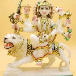 Marble Durga