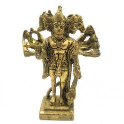 brass panchmukhi hanuman