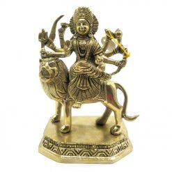 Brass Durga