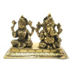 Brass Laxmi Ganesh