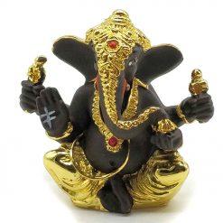 Gold Plated Ganpati Idol